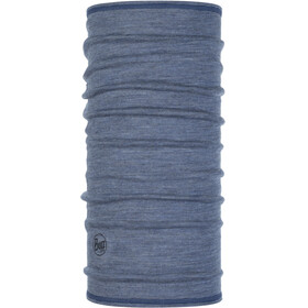 Buff Lightweight Merino Wool 3/4 Tube Light Denim Multi Stripes